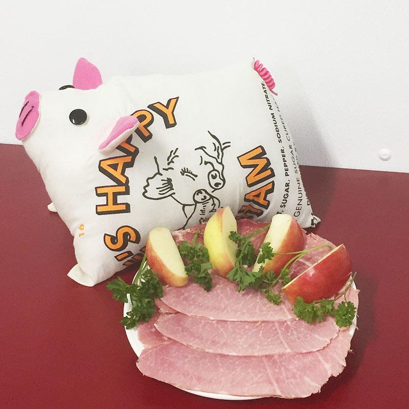 Happy Cooked Sliced Ham