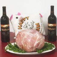 Happy Whole Cooked Boneless Ham