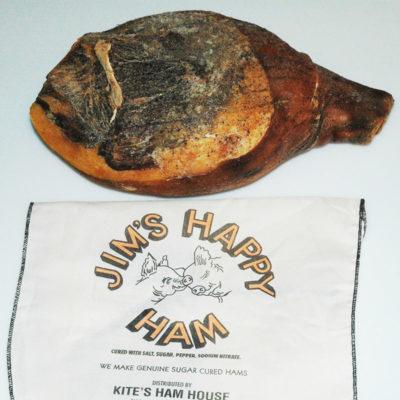Happy Whole Uncooked Ham